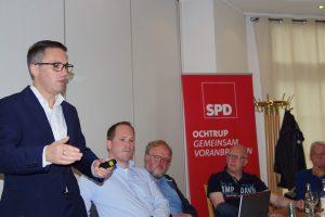 """""""Wir, die SPD im Landtag von Nordrhein-Westfalen, wollen diese sogenannten Straßenausbaubeiträge abschaffen"""", sagt der Landtagsabgeordnete und kommunalpolitische Sprecher der SPD-Fraktion, Stefan Kämmerling."""